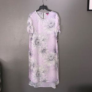 NWT Vince camuto sheer long tunic size Xs